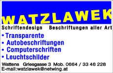 Fa. Watzlawek Wattens